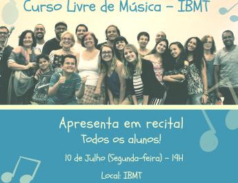 Curso Livre de Música da IBMT(8)